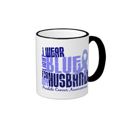 I Wear Light Blue For Husband 6.4 Prostate Cancer Mugs