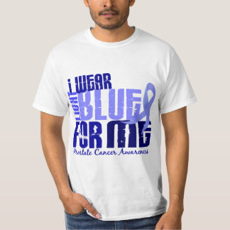 I Wear Light Blue For Me 6.4 Prostate Cancer T-Shirt