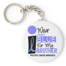 I Wear Light Blue For My Brother 9 PC Keychain