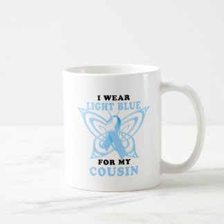 I Wear Light Blue for my Cousin Coffee Mug