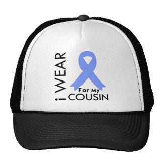 I Wear Light Blue For My Cousin - Prostate Cancer Trucker Hat