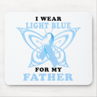 I Wear Light Blue for my Father Mouse Pad