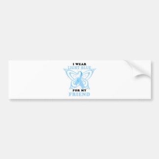 I Wear Light Blue for my Friend Bumper Sticker