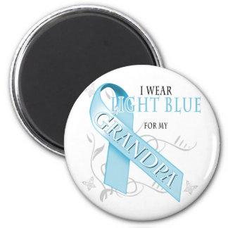 I Wear Light Blue for my Grandpa Magnet