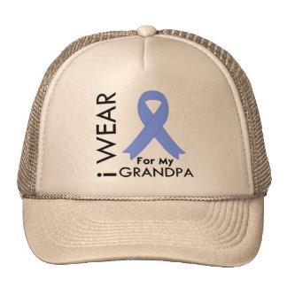 I Wear Light Blue For My Grandpa - Prostate Cancer Trucker Hat