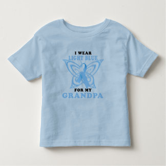 I Wear Light Blue for my Grandpa T-shirt