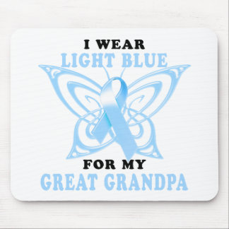I Wear Light Blue for my Great Grandpa Mouse Pad