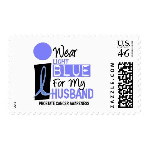 I Wear Light Blue For My Husband 9 PC Postage