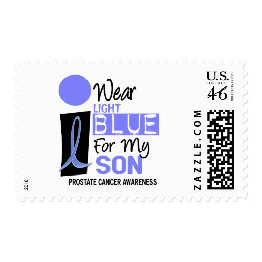 I Wear Light Blue For My Son 9 PC Postage