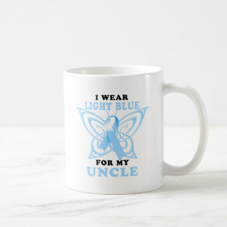 I Wear Light Blue for my Uncle Coffee Mug