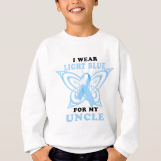 I Wear Light Blue for my Uncle Sweatshirt