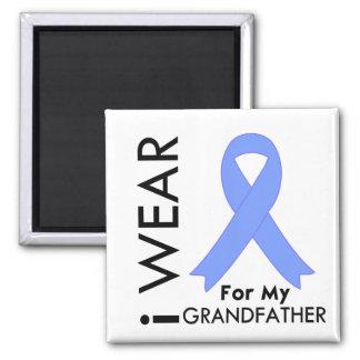 I Wear Light Blue (Grandfather)  Prostate Cancer Magnet