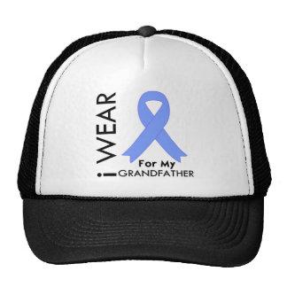 I Wear Light Blue (Grandfather)  Prostate Cancer Trucker Hat