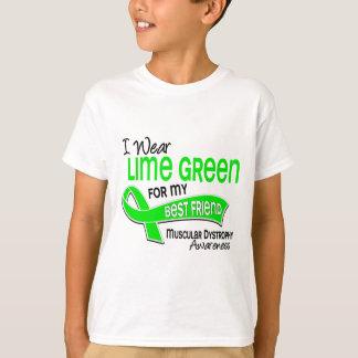 I Wear Lime 42 Best Friend Muscular Dystrophy T-Shirt