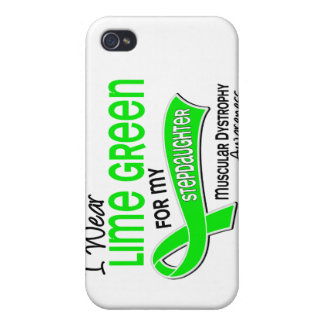 I Wear Lime 42 Stepdaughter Muscular Dystrophy iPhone 4 Case