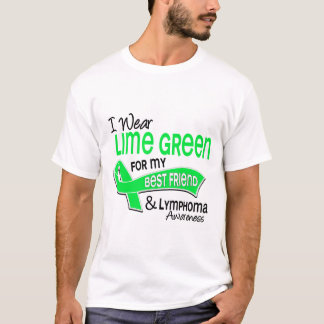 I Wear Lime Green 42 Best Friend Lymphoma T-Shirt
