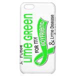 I Wear Lime Green 42 Boyfriend Lyme Disease Case For iPhone 5C