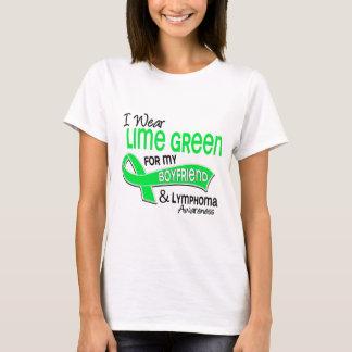 I Wear Lime Green 42 Boyfriend Lymphoma T-Shirt