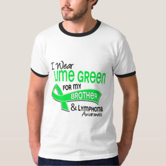 I Wear Lime Green 42 Brother Lymphoma T-Shirt
