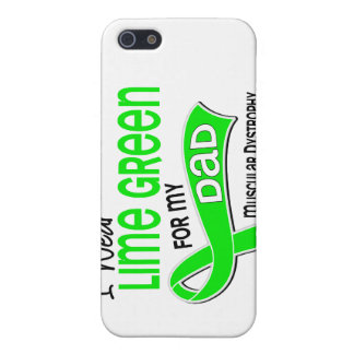 I Wear Lime Green 42 Dad Muscular Dystrophy iPhone 5 Cases
