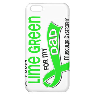I Wear Lime Green 42 Dad Muscular Dystrophy iPhone 5C Cases