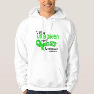 I Wear Lime Green 42 Daughter Lyme Disease Hoody