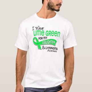 I Wear Lime Green 42 Daughter Lymphoma T-Shirt