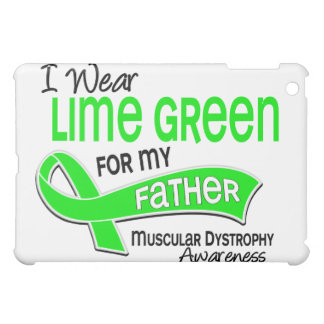 I Wear Lime Green 42 Father Muscular Dystrophy iPad Mini Covers