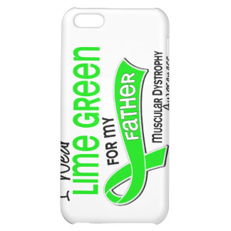 I Wear Lime Green 42 Father Muscular Dystrophy iPhone 5C Covers