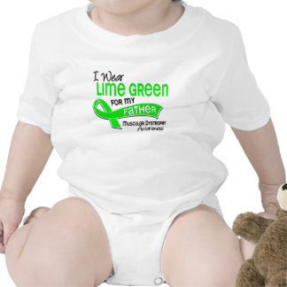 I Wear Lime Green 42 Father Muscular Dystrophy Shirt