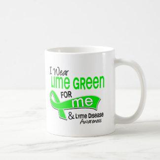 I Wear Lime Green 42 Me Lyme Disease Classic White Coffee Mug