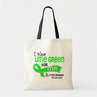 I Wear Lime Green 42 Me Lyme Disease Tote Bag