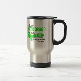 I Wear Lime Green 42 Me Muscular Dystrophy Coffee Mugs