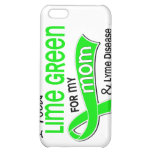 I Wear Lime Green 42 Mom Lyme Disease Cover For iPhone 5C