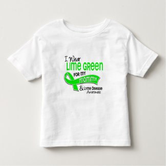 I Wear Lime Green 42 Mommy Lyme Disease Toddler T-shirt
