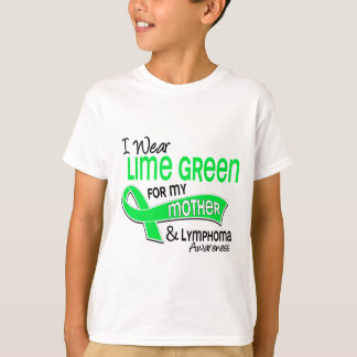 I Wear Lime Green 42 Mother Lymphoma T-Shirt