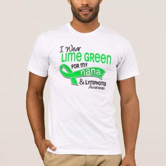 I Wear Lime Green 42 Nana Lymphoma T-Shirt