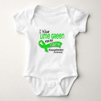 I Wear Lime Green 42 Nana Muscular Dystrophy Tshirt