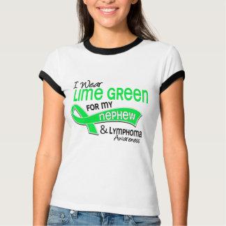 I Wear Lime Green 42 Nephew Lymphoma T-Shirt