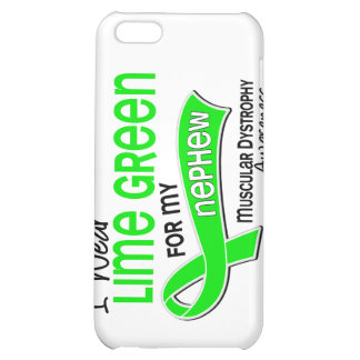 I Wear Lime Green 42 Nephew Muscular Dystrophy iPhone 5C Cases