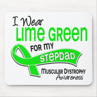 I Wear Lime Green 42 Stepdad Muscular Dystrophy Mouse Pad