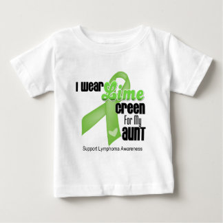 I Wear Lime Green For My Aunt - Lymphoma T-shirt