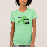 I Wear Lime Green For My Dad - Lymphoma T-shirt