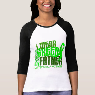 I Wear Lime Green For My Father 6.4 Lymphoma Tshirt