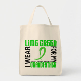 I Wear Lime Green For My Grandfather 46 Lymphoma Tote Bag