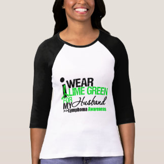 I Wear Lime Green For My Husband Tees