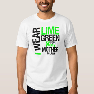I Wear Lime Green For My Mother-in-Law Lymphoma Shirt
