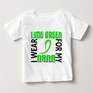I Wear Lime Green For My Nana 46 Lymphoma Baby T-Shirt