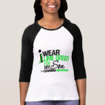 I Wear Lime Green For My Son Tee Shirt
