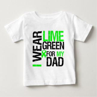 I Wear Lime Green Ribbon For My Dad Lymphoma T-shirt